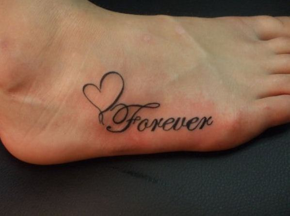 Forever Tattoo Design 24