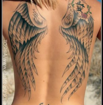 angel tattoos designs
