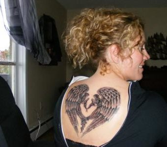 jewish angel tattoos