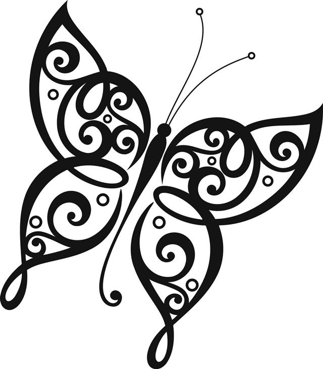 Butterfly Vector Tattoo
