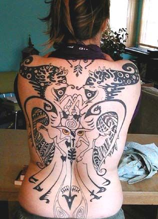 Sexy Back Tattoo