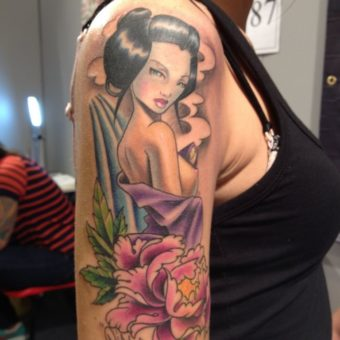 Geisha Tattoos for women